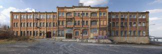 Fotografie einer Maschinenfabrik an einem lostplace, verlassenem Ort im Osten, Sachsen Anhalt